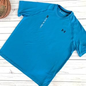 ⬇️Men's Blue Under Armour HeatGear Loose Fit Shirt